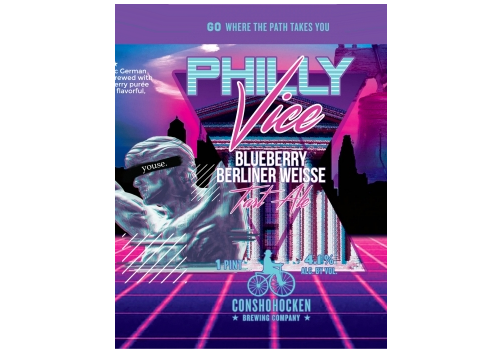 Philly Vice Blueberry Berliner Weiss | Harrison beverage